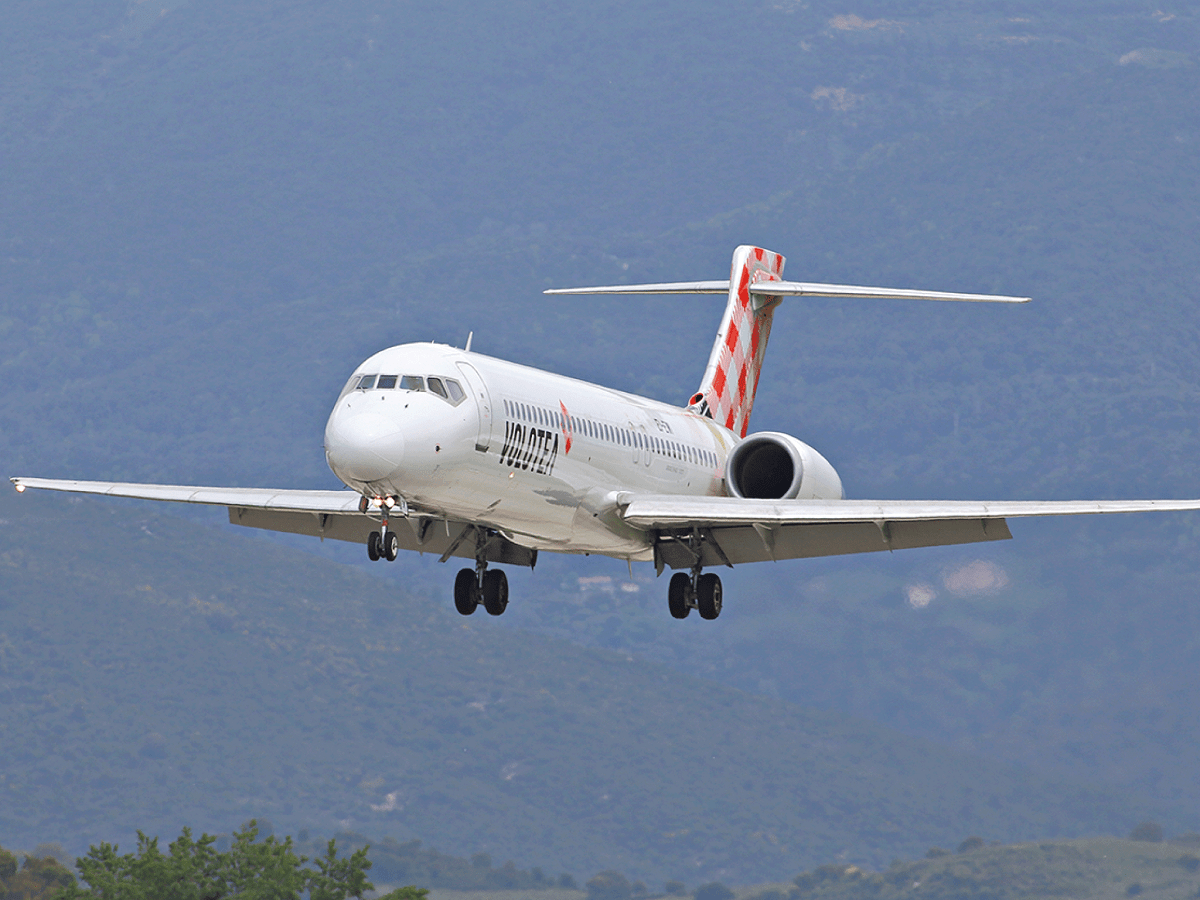 Volotea Boeing 717 Rejects Takeoff Due To Bird Strike