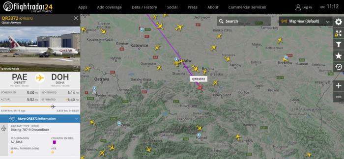 A7-BHA, Qatar Airways