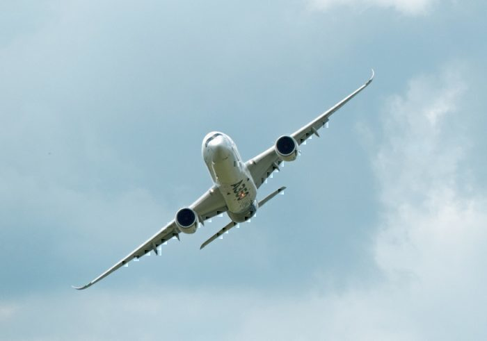 Aeroflot, Airbus A350, London