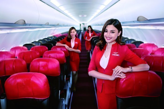 airasia flight attendents