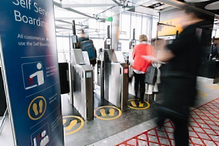 BA biometric gates