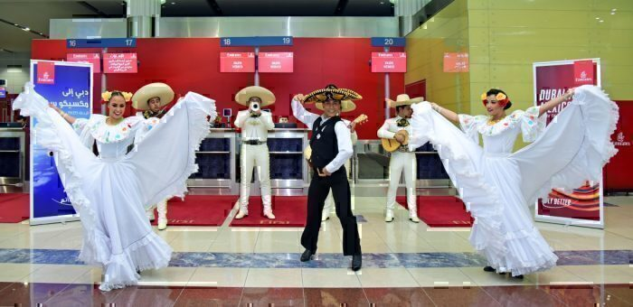 Emirates, Barcelona, Mexico City
