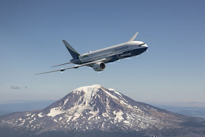 O especial Boeing 777. Foto: Boeing