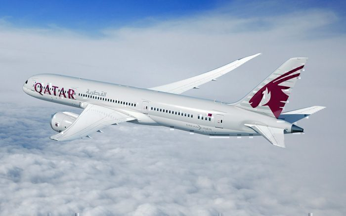 Qatar 787-9 Dreamliner