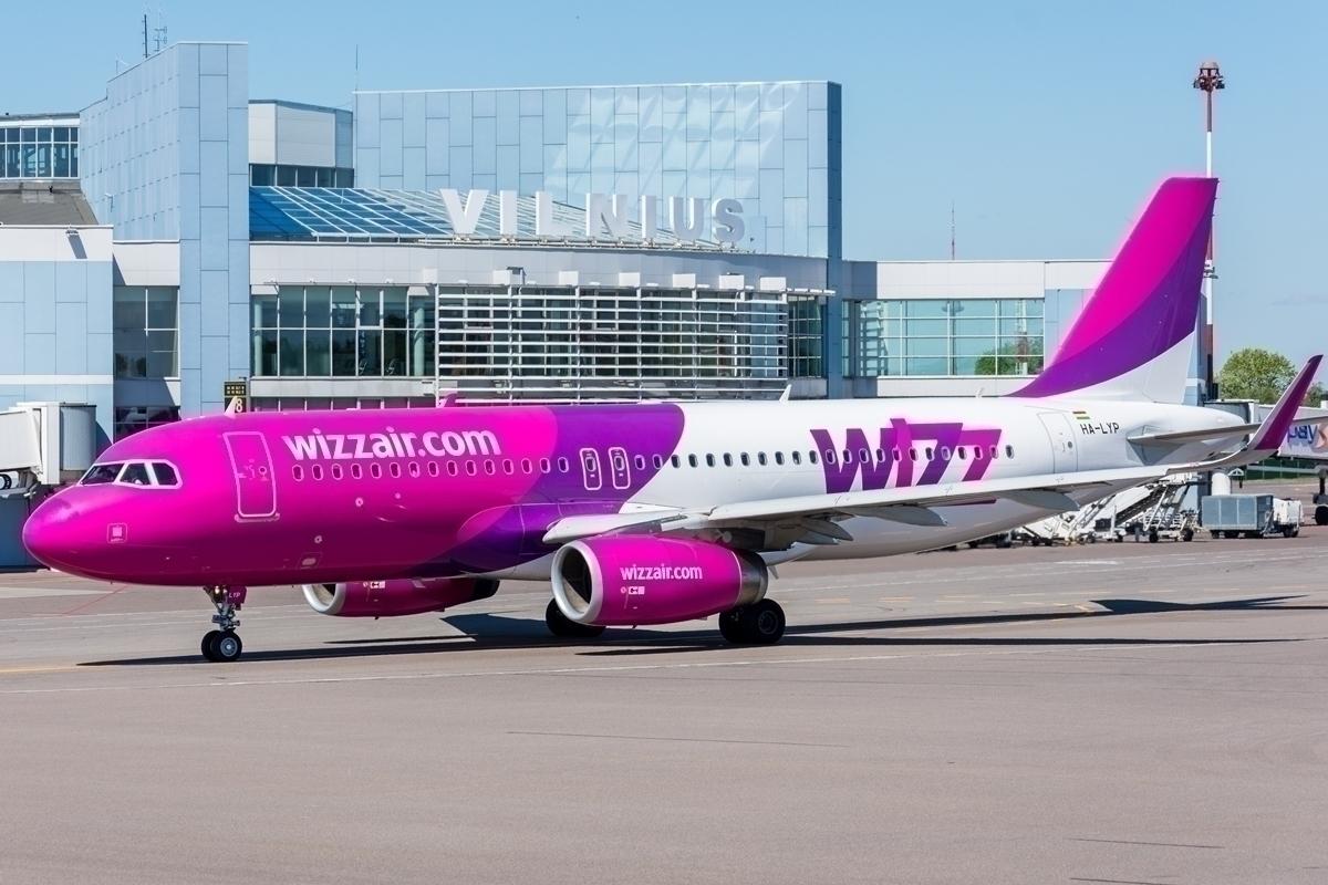 Vilnius to London City PSO