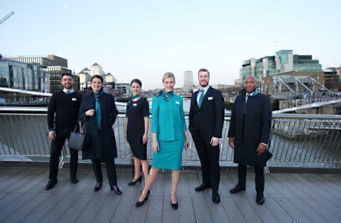 Aer Lingus, New Uniform, Dublin