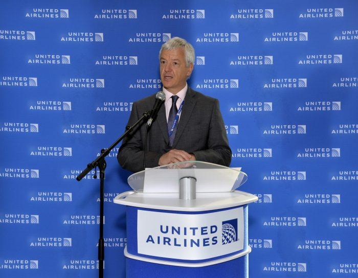 United Airlines Bob Schumacher