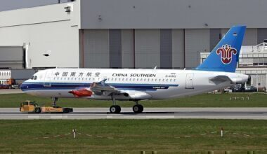 China Southern Airlines Airbus A319