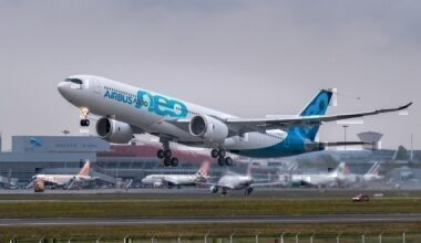 Airbus A330neo First Flight.
