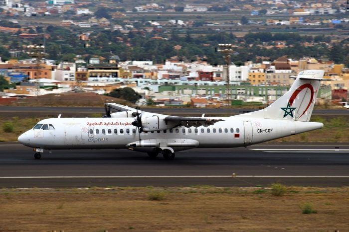 CN-COF / Royal Air Maroc Express / ATR 72-600