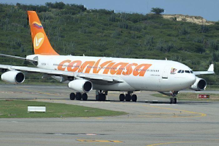 YV1004 Airbus A.340 ConViasa