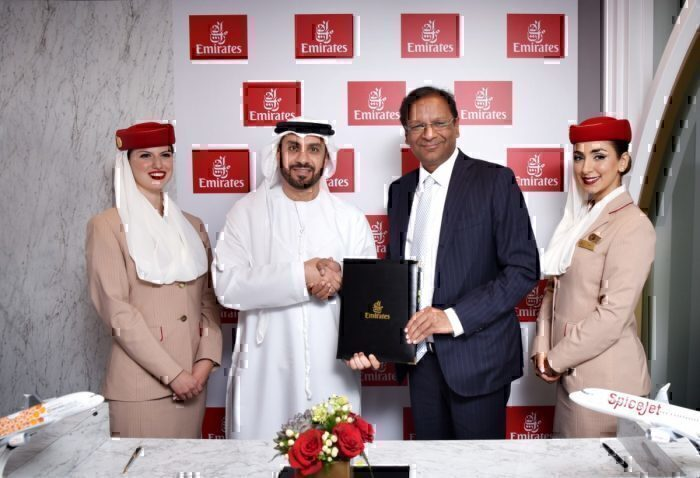 SpiceJet Emirates Getty Images