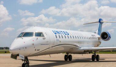 United Airlines CRJ550