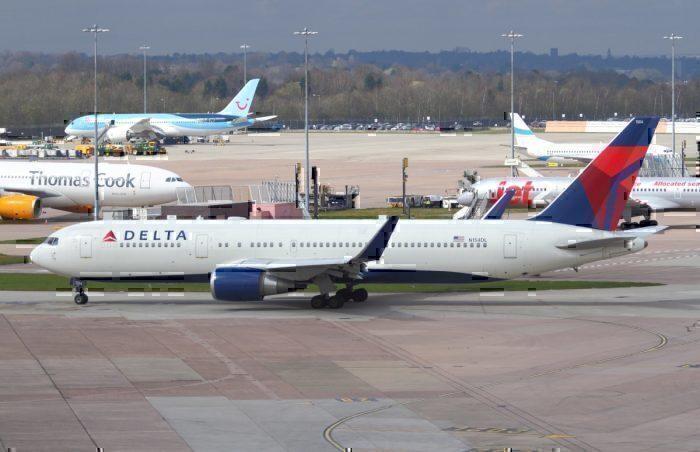 N154DL Boeing 767