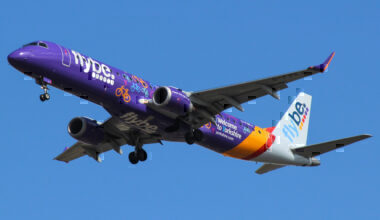 Flybe Embraer 195 'Welcome to Yorkshire'