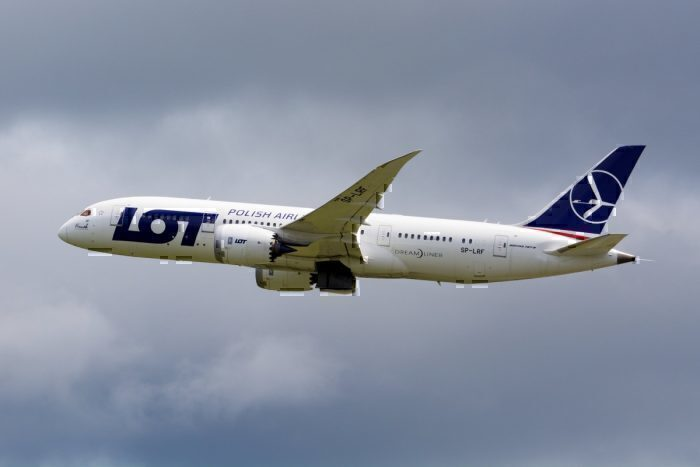 LOT Polish Airlines, Boeing 787-8 SP-LRF NRT
