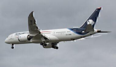 Aeromexico B787 Dreamliner