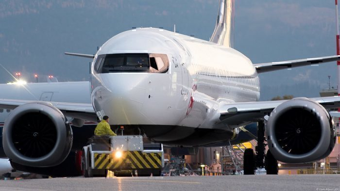Air Canada boeing 737 Max grounded