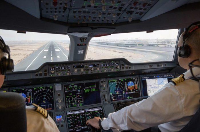 A350-1000 Cockpit