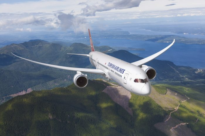 Turkish Airlines Boeing 787 Dreamliner