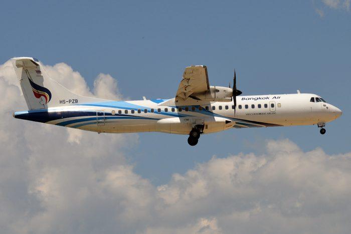 Bangkok Airways, HS-PZB, ATR 72-600