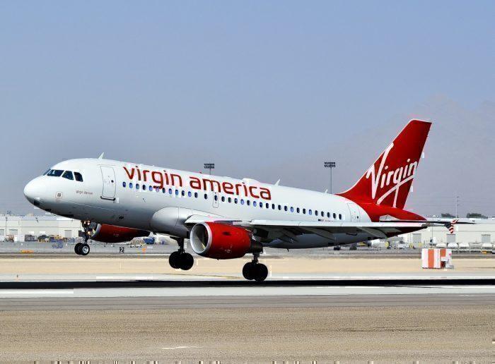 Virgin America Airbus A319-112