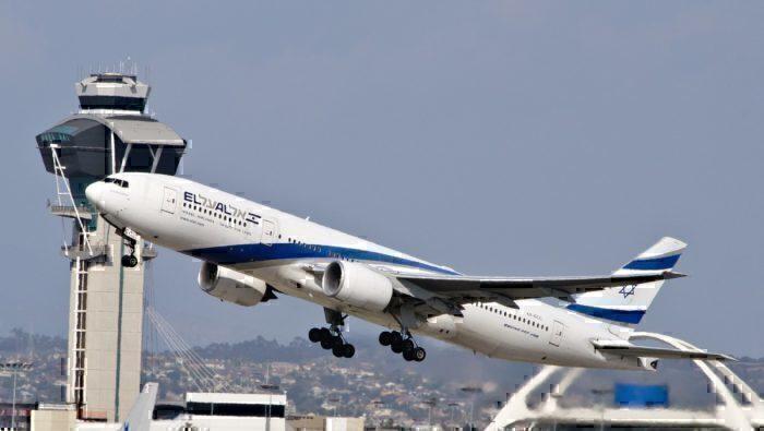 El Al 4X-ECC aircraft taking flight