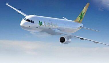 Air Sial plane in sky