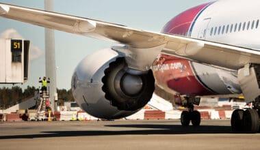 Norwegian 787 Aircraft