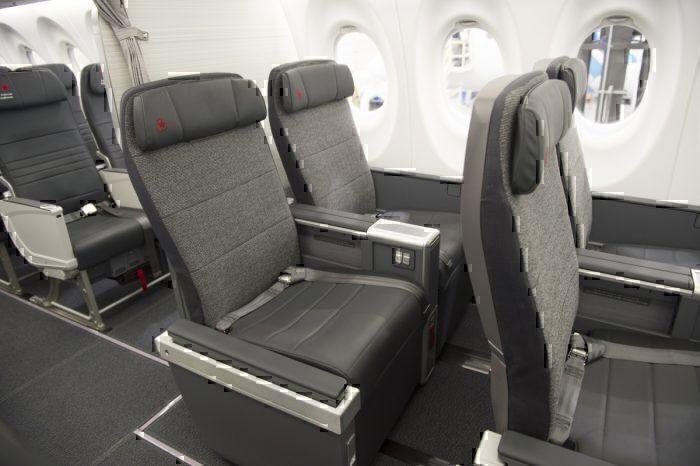 Air Canada AIrbus A220 Business Class