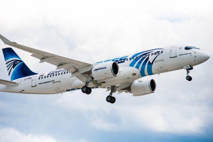 Airbus A220 Egyptair