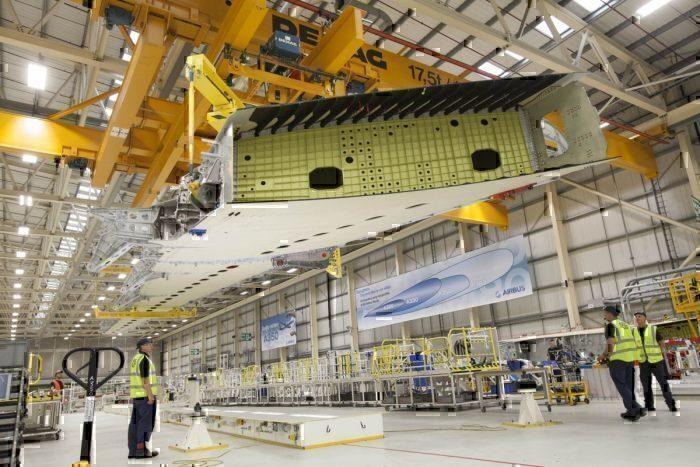 Airbus UK wings brexit