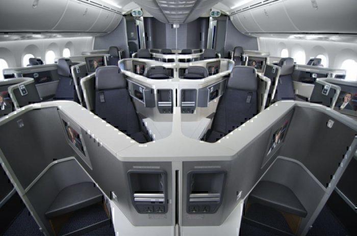 AA 787 business