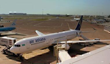 Air Astana, Boeing 767