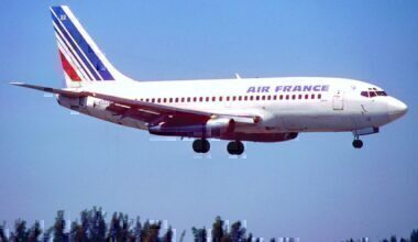 Boeing 737-200, N4522W, Air France