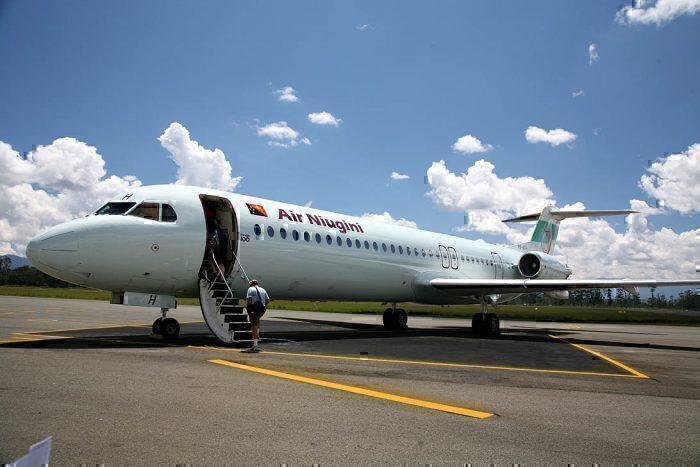 Air Niugini Fokker