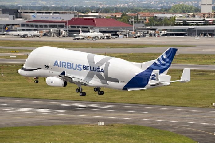 Airbus, BelugaXL, First Flight
