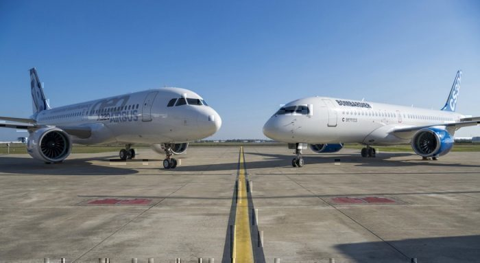 Airbus A320 and A220