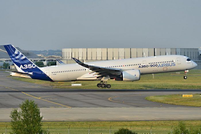 Airbus A350 Aircraft takeoff