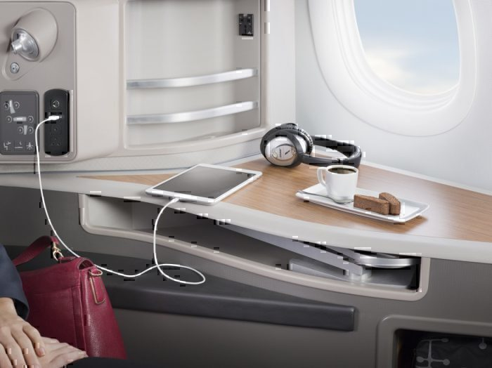 American Airlines cabin