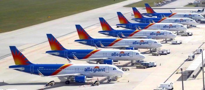 Allegiant Air Planes