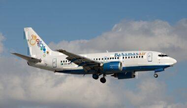 Bahamasair, 737-500