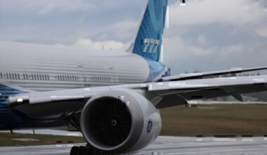 Boeing 777X Engine for Test Flight