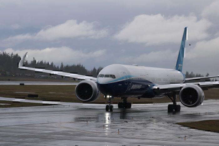 777X FLight Test
