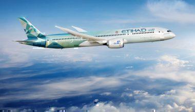 Etihad Airways, Boeing 787, Brussels, Eco Flight