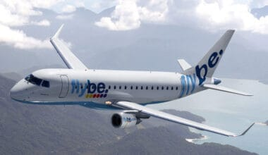 Flybe Embraer Aircraft