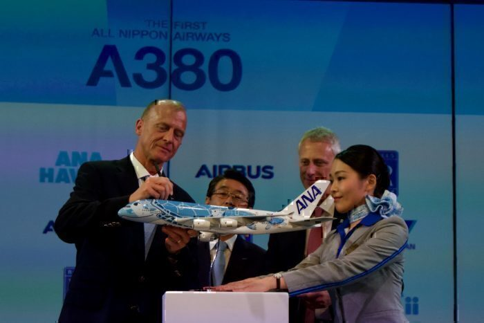 ANA, Airbus A380, Last Delivery