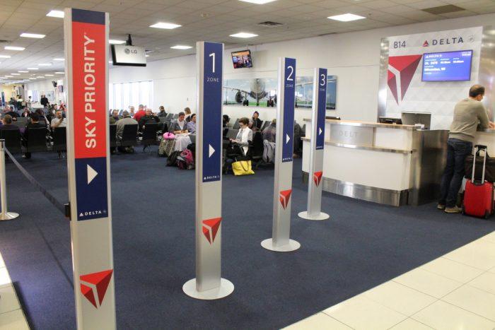 Delta boarding