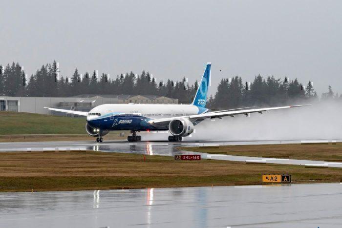 Boeing, 777x, first flight, maiden flight