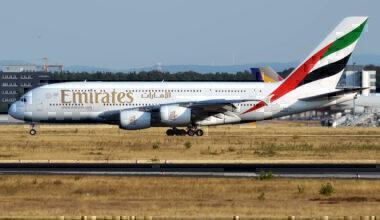 Emirates, A6-EOE